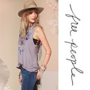 Free People Graphic Tank